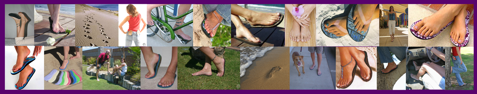 9d675b50e803 Welcome to TOPLESS STICKY SANDALS - They Stick To Your Feet!
