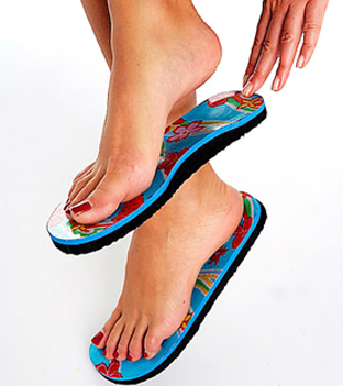 9a48ce795637 The Original Topless Sticky Sandals are ideal as a beach shoe