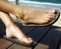 98736182c67e The Original Topless Strapless Sticky Sandals - They Stick to Your Feet!